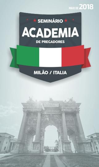 Seminário Internacional Itália Maio 2018