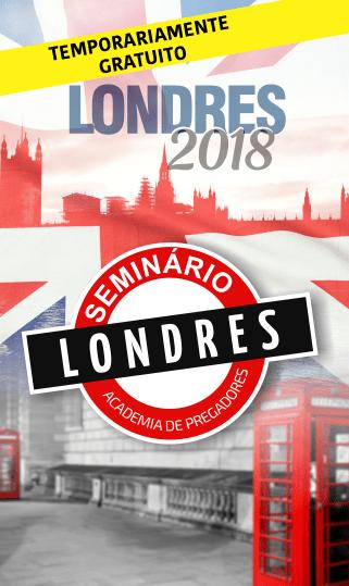 Seminário Internacional Londres 2018