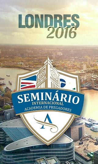 Seminário Internacional Londres 2016